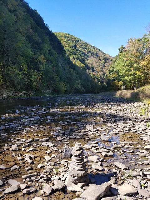 Pine Creek, bottom of the gorge