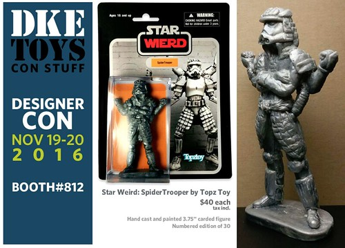 Star Wars inspired non-licensed mashups from DKE Toys