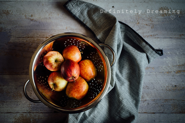 Bowl of Rosy Apples