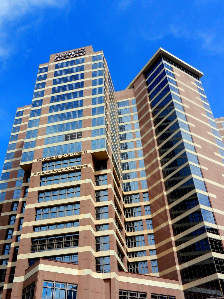 Md Anderson Cancer Center Houston Texas Just One Of The