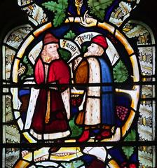 Jacob and Joseph: Tree of Jesse detail (14th Century)