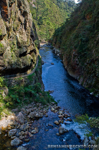Water stream at Karangahake Gorge | by Benjamin Beck