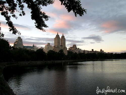 NYC Sept 2013_Central Park Reservoir_feistyharriet   by FeistyHarriet