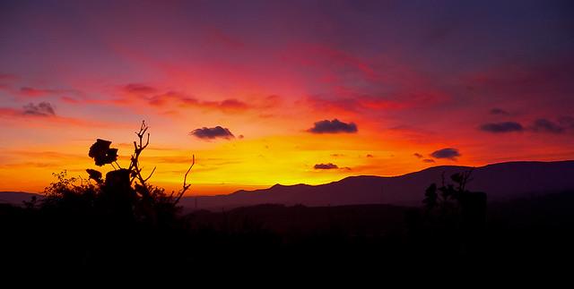 Alsace-Vosges-Sunset