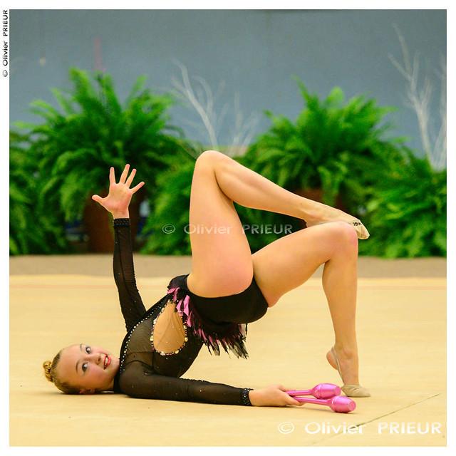Morganne DISDERO, NB cadette, Gymnastique Rythmique Championnat de Zone Ile de France 2013