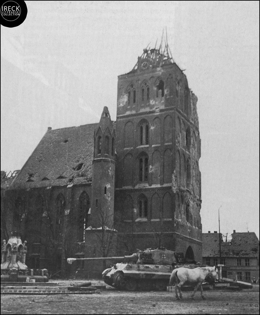 Arnswalde Choszczno 1945, Panzer Tieger? Neumark, Pommern,… | Flickr