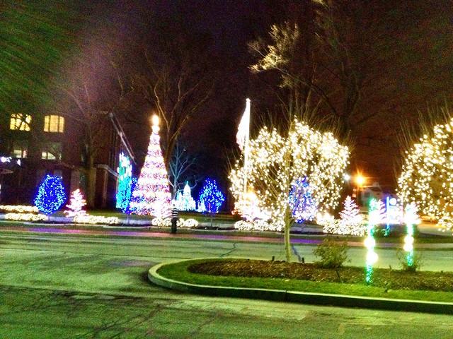 GE Nela Park lights.