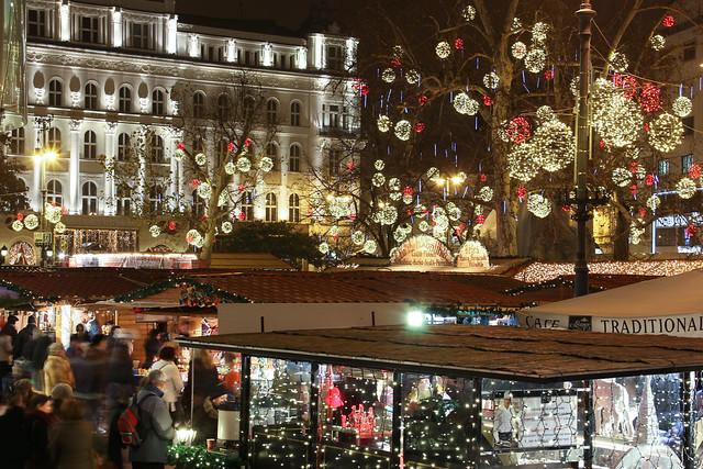 #Flickr12Days - Christmas Market on Vorosmarty Square 2013 - 2