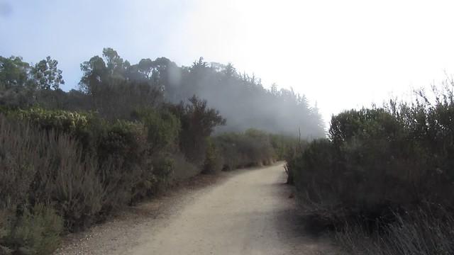 MVI_7459 goleta bacara haskells beach fog flowing in
