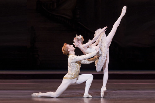 The Sleeping Beauty. The Royal Ballet. Sarah Lamb as Aurora and Steven McRae as Prince Florimund. October 2011. Photo by Johan Persson | by Royal Opera House Covent Garden