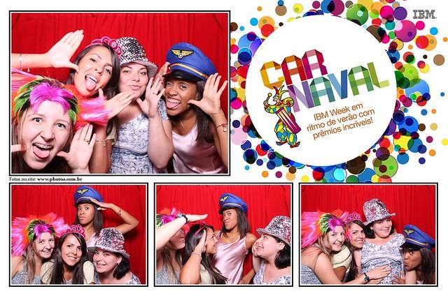 Coorporativo - IBM - Officer Carnaval   Photo A - Cabine De Foto Lembraça