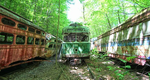 Trolley Graveyard | by Forsaken Fotos