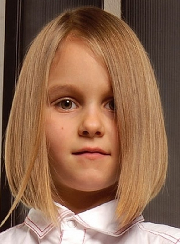 2016 2017 Winter Little Girls Hairstyles Haircuts Blonde S