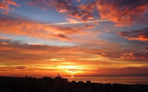 andalucia marbella málaga mar mediterráneo españa spain amanecer sunrise