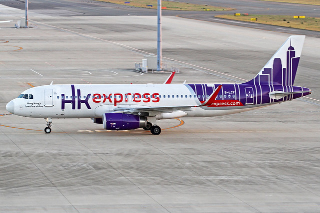 Hong Kong Express Airways Airbus A320-232 B-LCF NGO 27-10-16