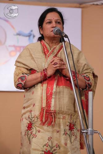 Rajni Arya expresses her views