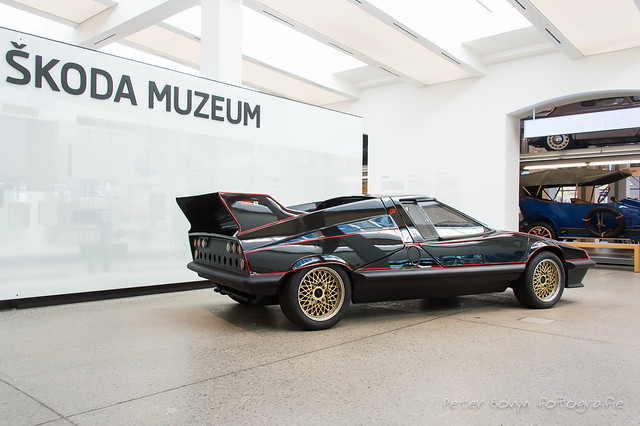 Skoda 110 Super Sport Typ 724 Concept - 1971