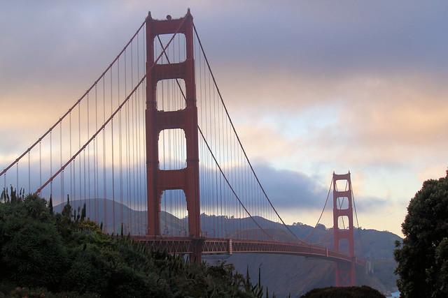 Golden Gate Fading Light