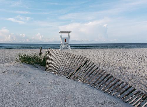 beach fence unitedstates alabama orangebeach lifeguardstand herowinner