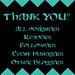 THANK YOU EVERYONE!!