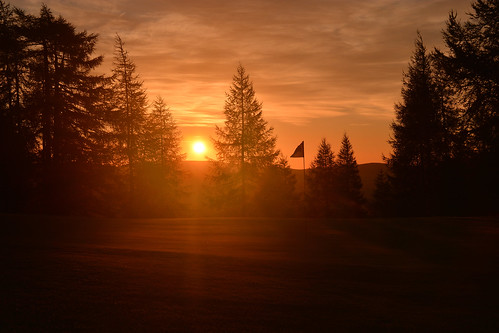 green club sunrise golf scotland 9th moray dufftown