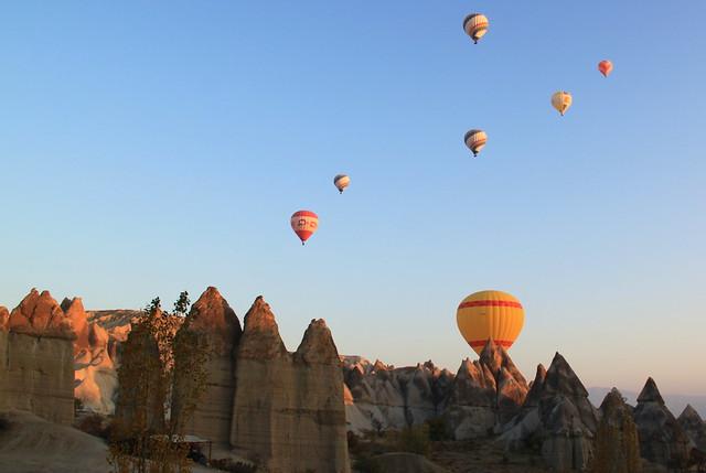 Cappadocia balloonflight