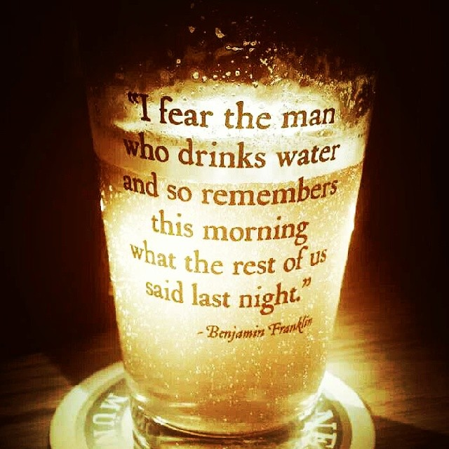 I #fear the man who drinks #water and so remembers this mo… | Flickr