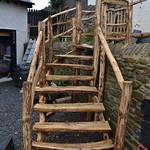 Cleft Chestnut Stairs