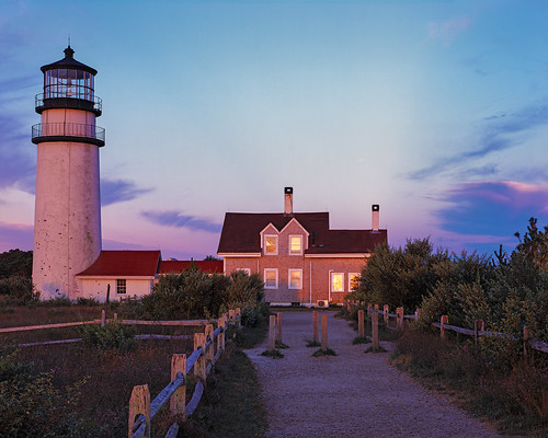 lighthouse film sunrise capecod massachusetts fujifilm 4x5 lf largeformat provia100f 135mm rodenstock rdpiii sironars davidmartinezmarinero davidmarinero
