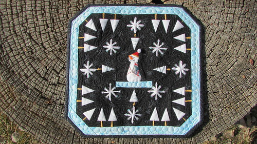 Mini quilt made for Sewgentle...