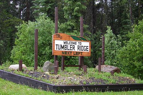Tumbler Ridge, Northern British Columbia, Canada
