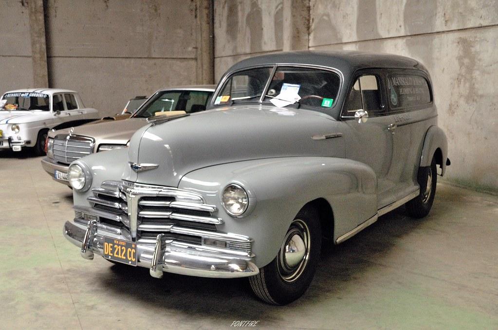 1948 CHEVROLET Stylemaster sedan delivery | Le Neubourg Les