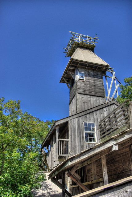 Minister's Tree House, Crossville, Cumberland County, Tennessee 5