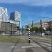 2 juli fiets af en lekker uit eten en foto's van het stationsgebied voor volgend project