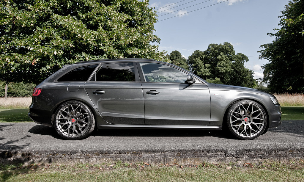Audi A4 B8 Avant With 20 Raywell Design Jrr Alloy Wheels Flickr