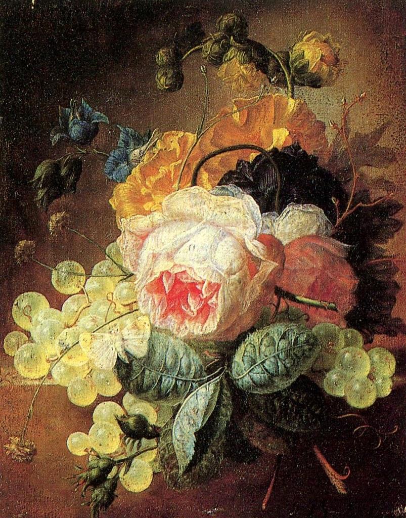 Bouquet Di Fiori.Attribuito A Jan Van Os 1744 1808 Bouquet Di Fiori Flickr