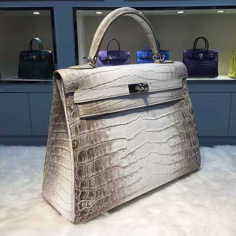 HERMES KELLY HIMALAYAN 🐊  Top quality replicas use the EXACT type of materials as the originals. ✈Shipping Worldwide 📱Hotline (viber/whatsapp/zalo/wechat): +841692229474 Contact Nia to see more pics and clips.  #NiaNiaBoutique #fashion #l | by nianiaboutique