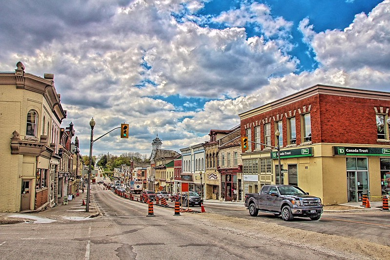 St Marys Ontario ~ Canada ~ Commercial Street ~ Historical ~  Queen Street l