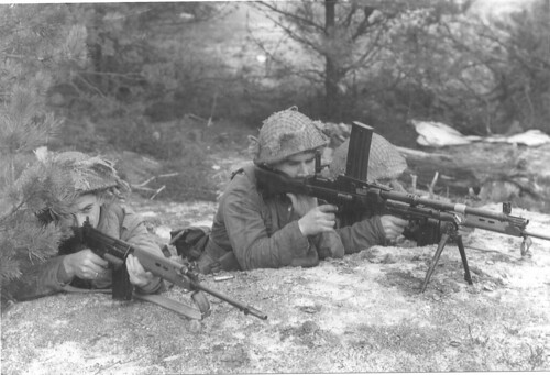 1st Bn the Gordon Highlanders Bren Gun Group.