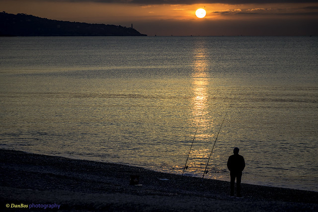 Sunrise - from the Promenade des Anglais (Nice)