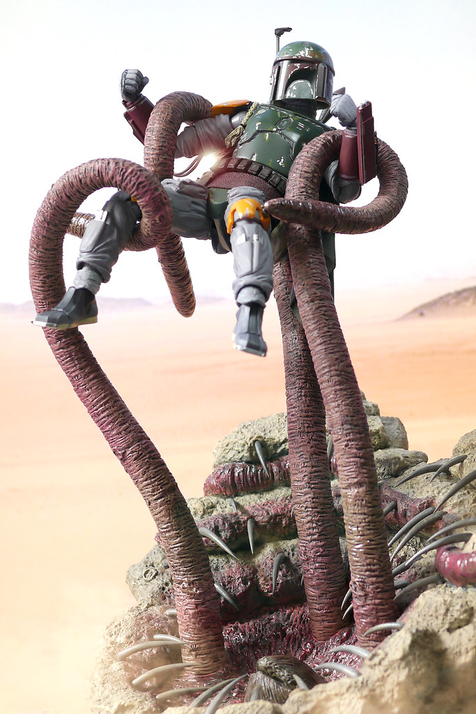 Last struggle | Sarlacc Pit base from Hot Toys | Kevin Chan