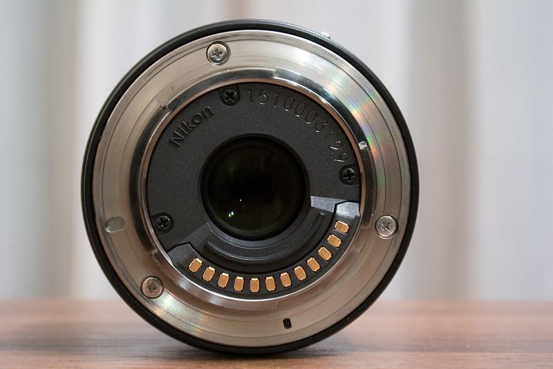 Nikon Nikkor 18.5mm f/1.8 rear view