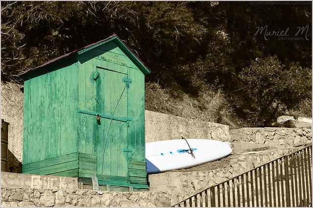 La petite cabane verte...