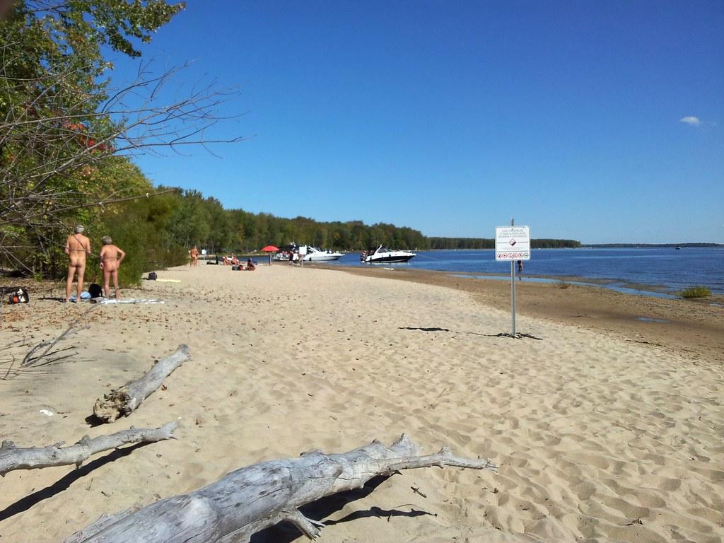 Quebec plage naturiste Fédération québécoise