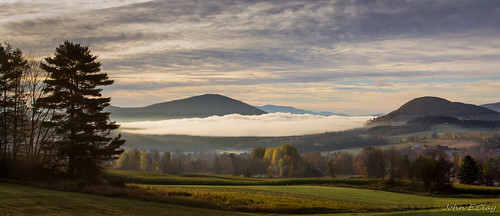 mountains fall sunrise vermont newengland jclay