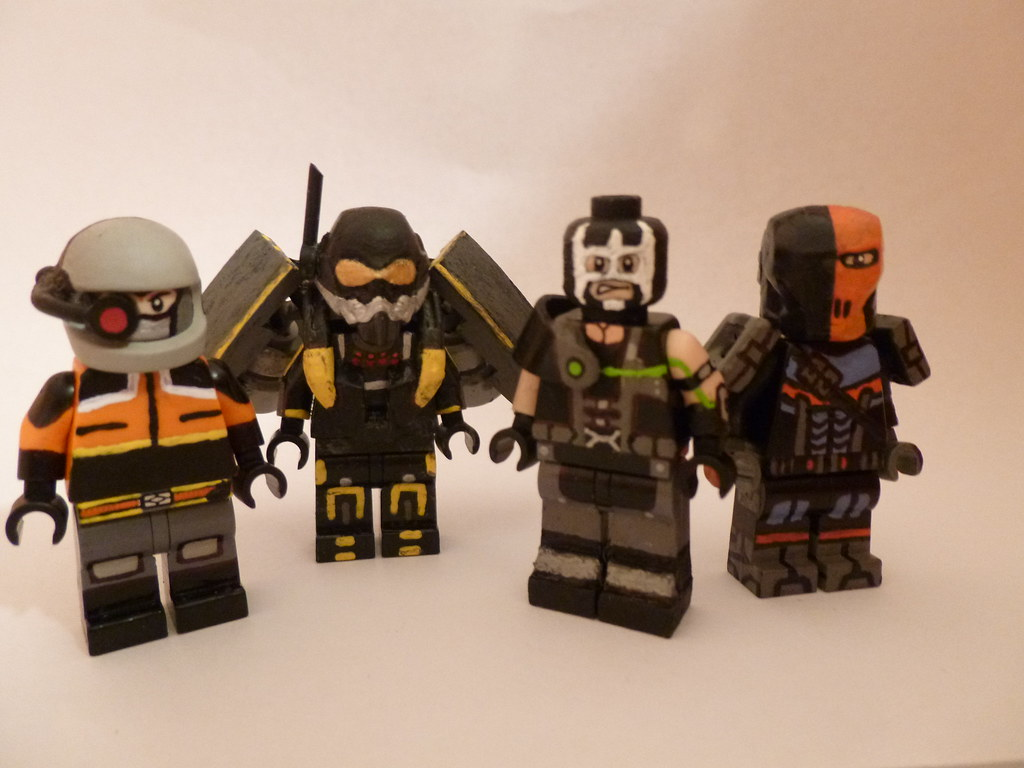 Lego batman arkham origins assassins updated by themoosefigs