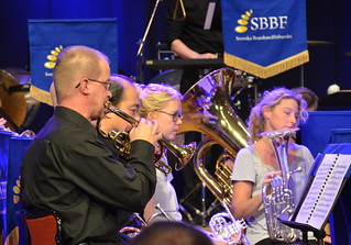 Brassbandfestivalen 2013 - Solokornetter , Windcorp Brass Band (Foto: Olof Forsberg)