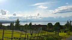 Utsikt mot södra Siljan från hotellet