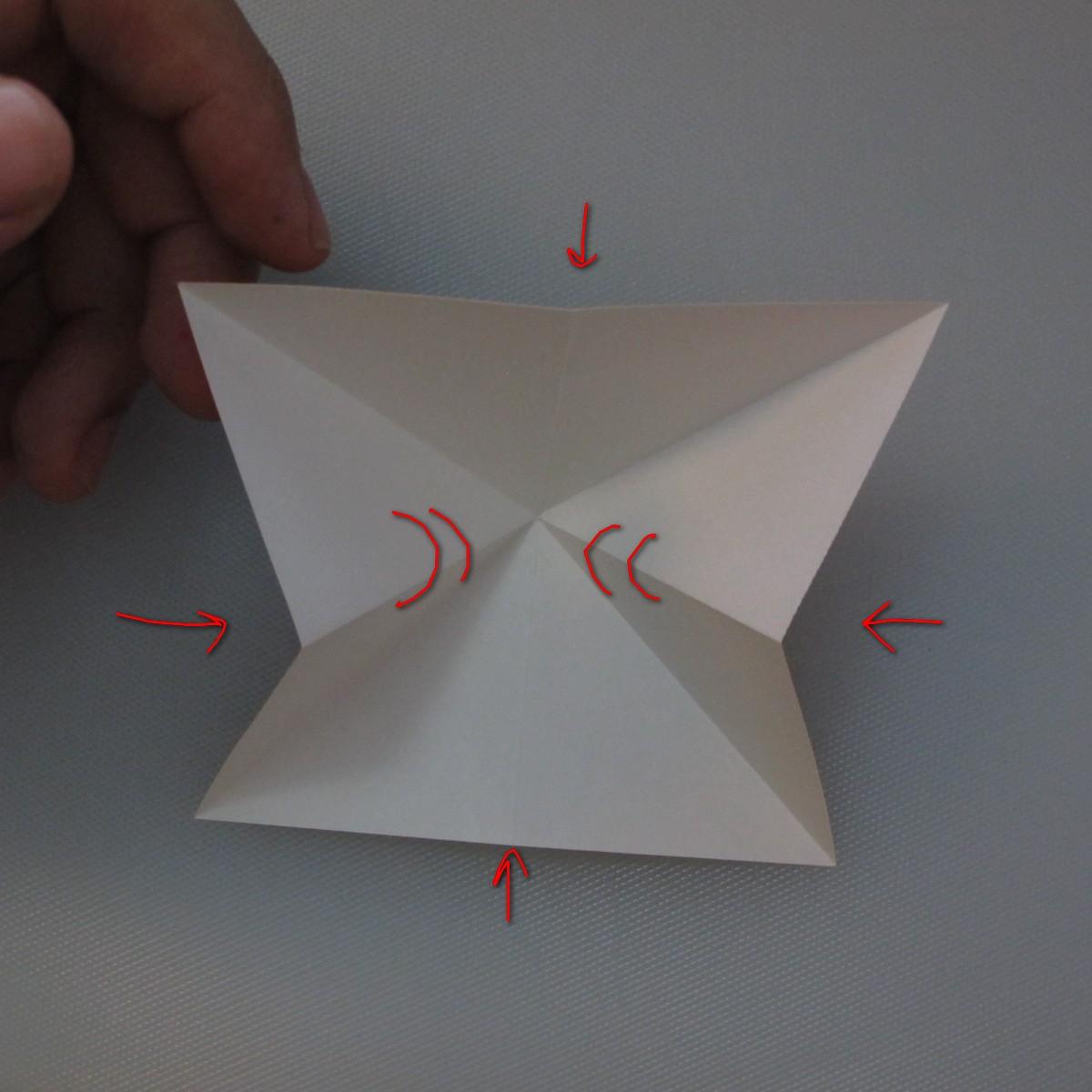 วิธีพับกระดาษเป็นดอกทิวลิป 004