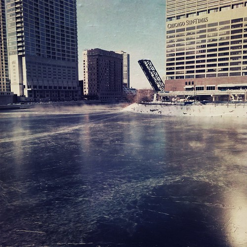 Iced River, Wolf Point | by swanksalot